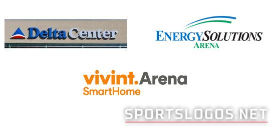 Utah Jazz arena logo history