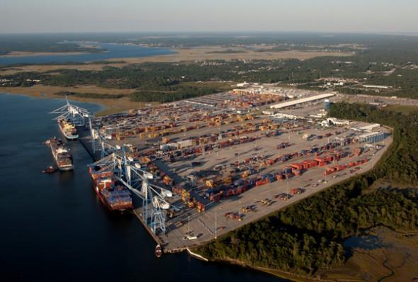 Port of Charleston.