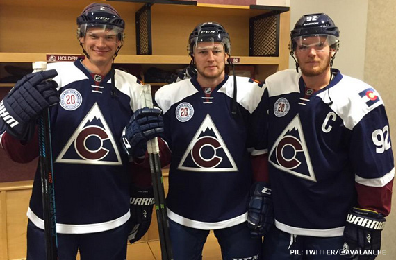 """The Future Comes From the Past"", Avalanche Unveil New Uniform"