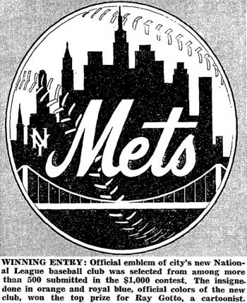 mets logo 1962