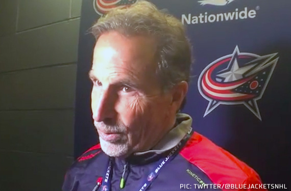 New Coach Needs Help: Blue Jackets Add Names to Practice Tops