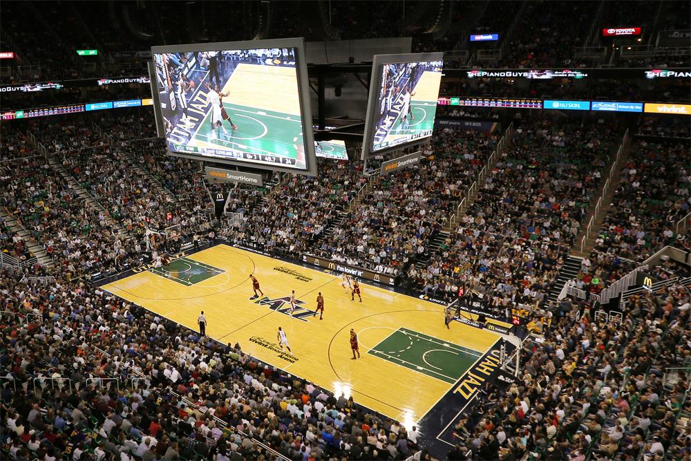Utah Jazz Home Arena Gets Smart New Name, Logo