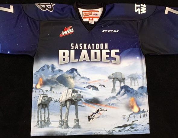 Blades Star Wars Jersey