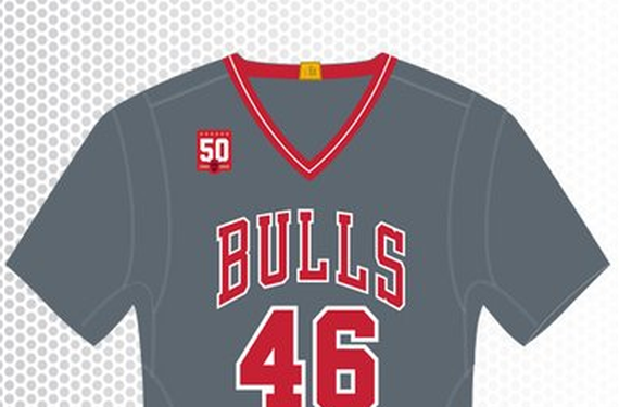 Chicago Bulls are set to wear sleeved gray uniforms on five occasions