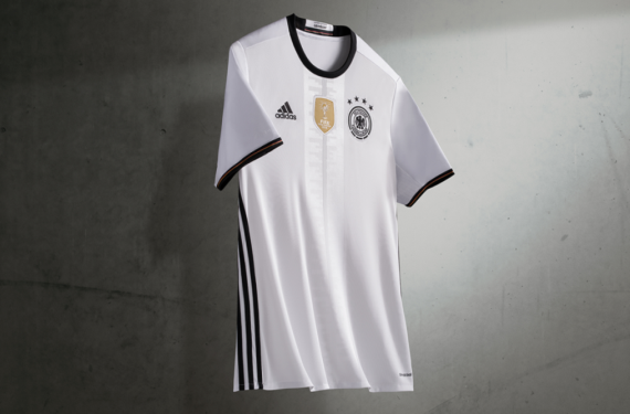 Adidas moves three stripes to the side for new Germany home kit