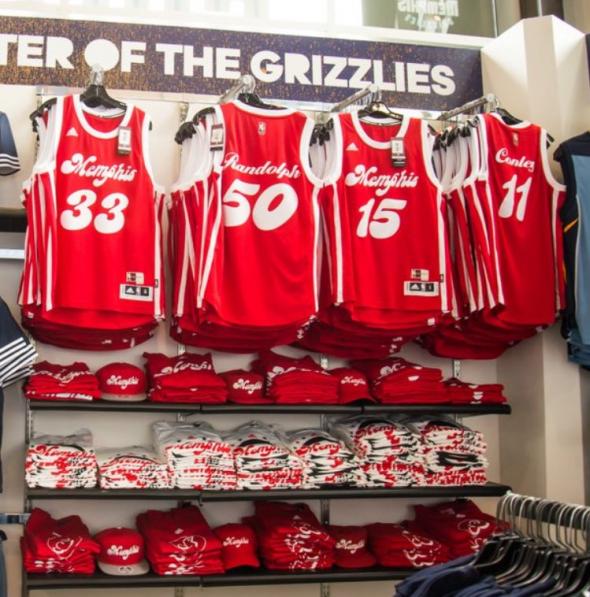 Grizzlies Sounds uniforms 1