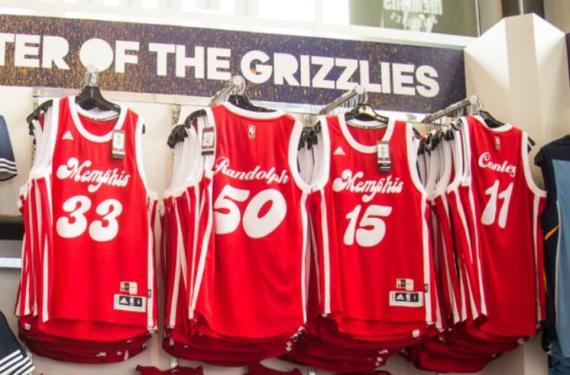 Grizzlies Sounds uniforms f