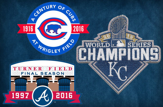 Braves, Cubs, and Royals to Wear Patches in 2016