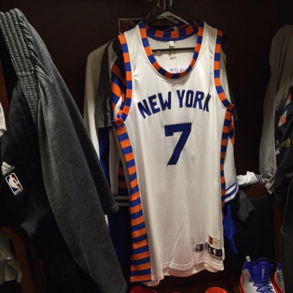 the latest 22f6f 109e0 New York Knicks will wear throwback jerseys for Turnback ...