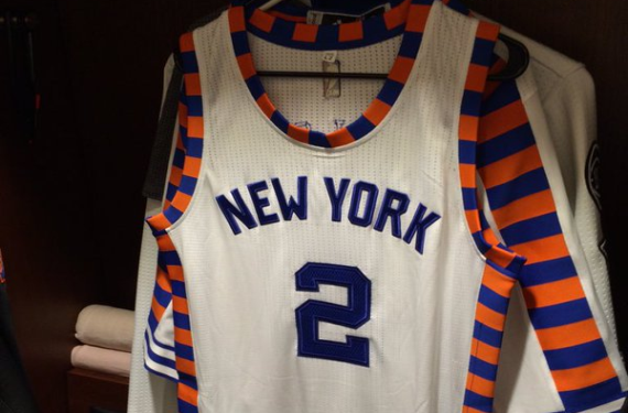 4d37e13331a New York Knicks will wear throwback jerseys for Turnback Tuesdays ...