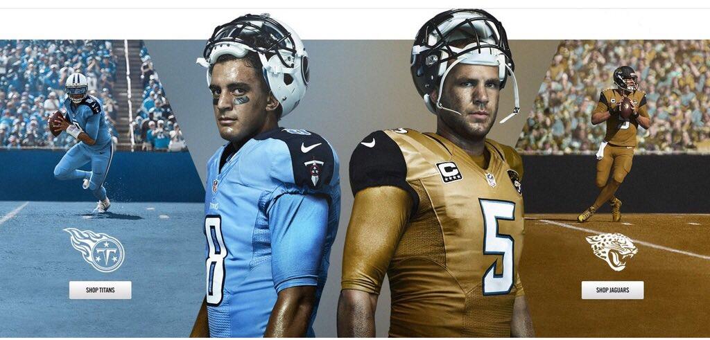 Jacksonville Jaguars gold NFL Color Rush uniforms are leaked ...