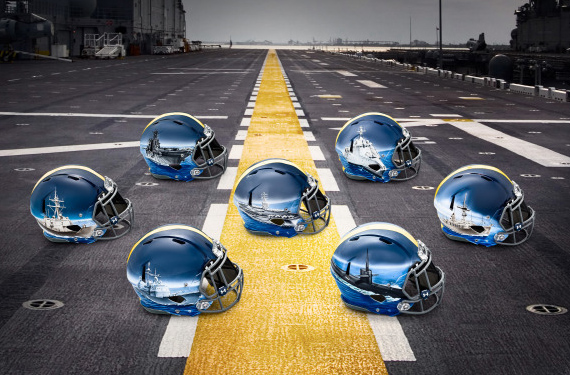 Navy to Wear Multiple Helmet Designs in Army-Navy Game