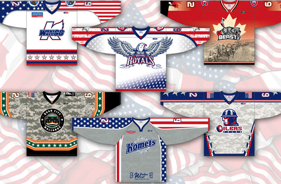 The Art of the Patriotic Hockey Sweater