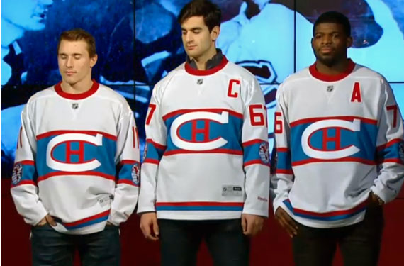 8647bd932 Montreal Canadiens Unveil 2016 Winter Classic Jersey