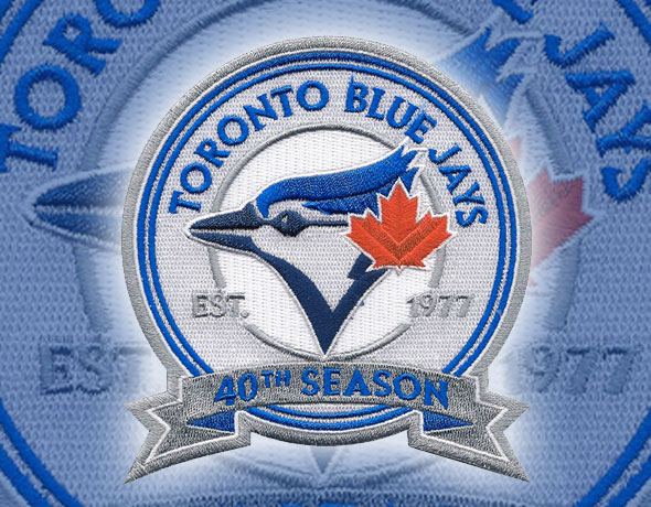 Blue Jays to Sport 40th Season Patch in 2016