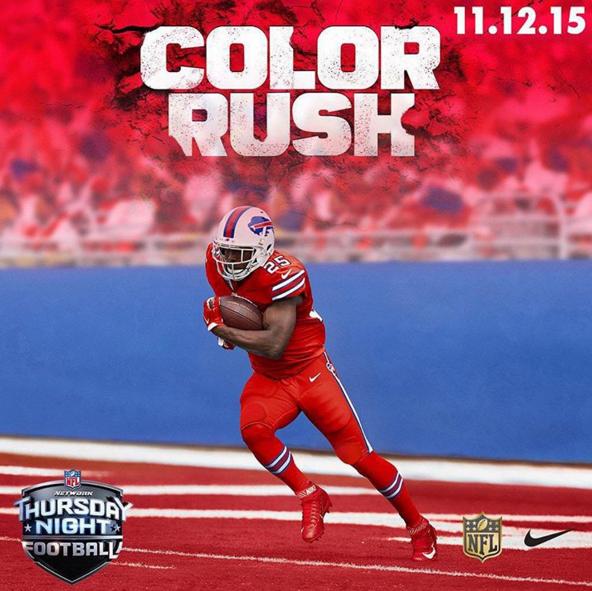 color rush bills jerseys