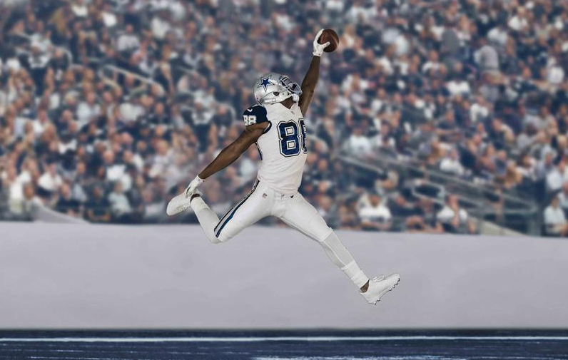 half off 22b54 26d34 Dallas Cowboys bring back Double-Star look with Color Rush ...