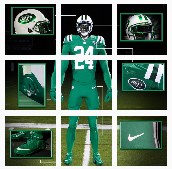 pretty nice 10682 2aa4c Buffalo Bills and New York Jets officially unveil Color Rush ...