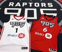 raptors 905 jerseys