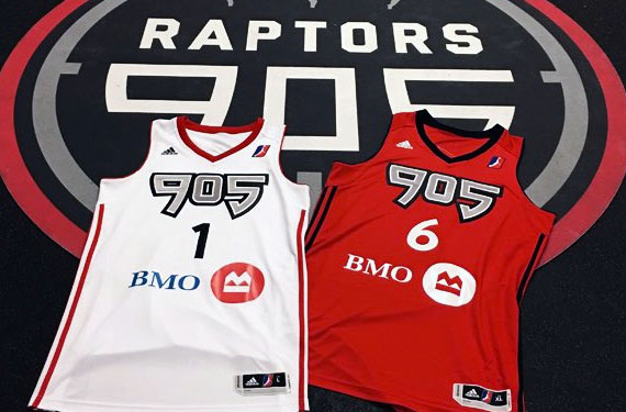 Raptors 905 Unveils New Uniforms