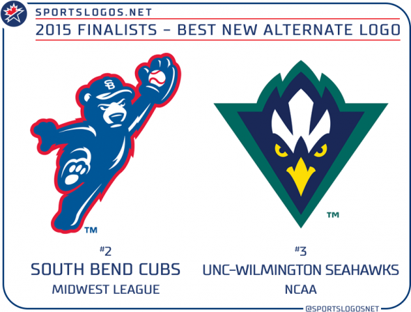 2015 best new alternate logo finalists