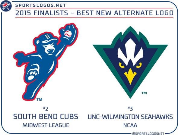 2015 best new alternate logo finalists
