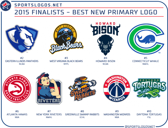 2015 best new primary logo finalists