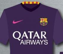 Barcelona 16-17 away kit f