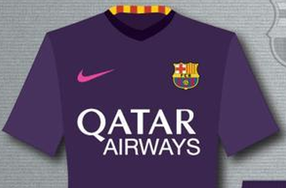 This may be the away kit for FC Barcelona in 2016-17  8010fc4ab