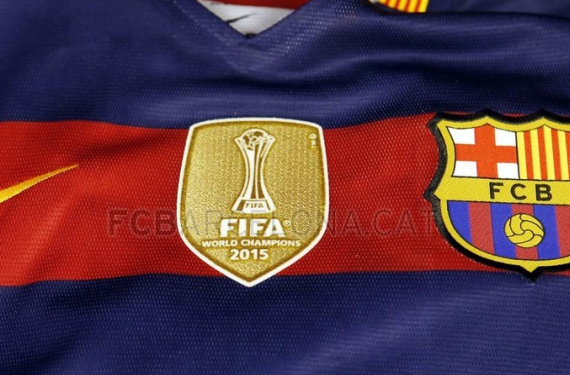 FC Barcelona are set to debut 2015 World Champions patch