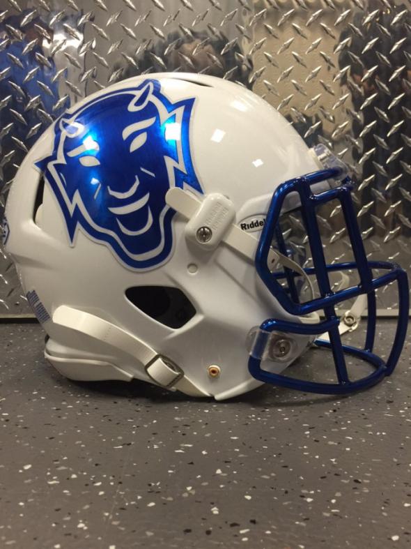 Duke throwback helmets