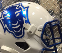 Duke throwback helmets f
