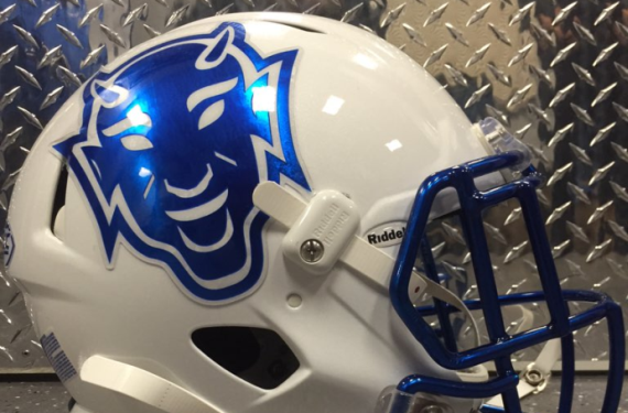 Duke Blue Devils football throws it back to the 1960s with bowl helmet