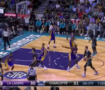 Lakers Hornets mess f