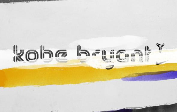 LeBron James typeface kobe