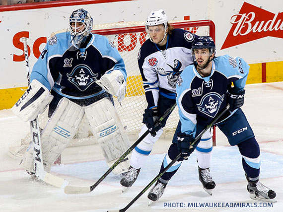 Milwaukee Admirals Uniform 2015-16