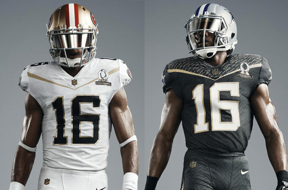 NFL PRo Bowl Uniforms 2016