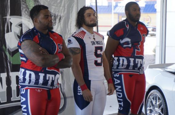 San Angelo Bandits unveil wild new football uniforms