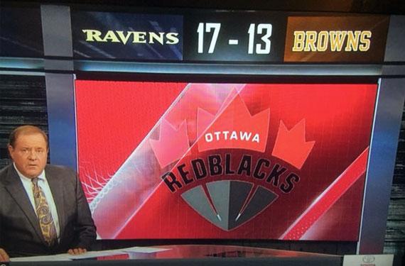 ESPN Uses Wrong RedBlacks Logo