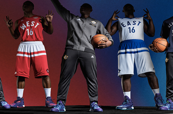 ed401abcd93 NBA unveils uniforms for 2016 All-Star Game