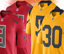 nfl color rush bucs rams f