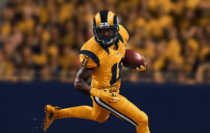 4fb9877d813 nfl color rush rams 5 rams color rush jersey. Color Rush: Here are the  Seahawks' and Rams' wild uniforms for Thursday night ...