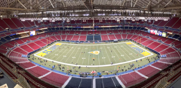 nfl color rush rams field 1st