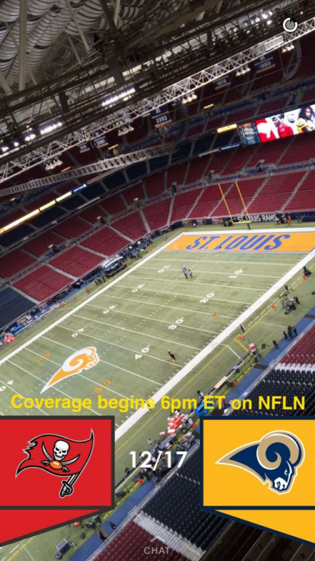 nfl color rush rams field 2