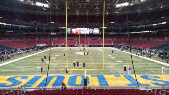 nfl color rush rams field 3rd