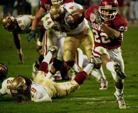 2001 Orange Bowl 2