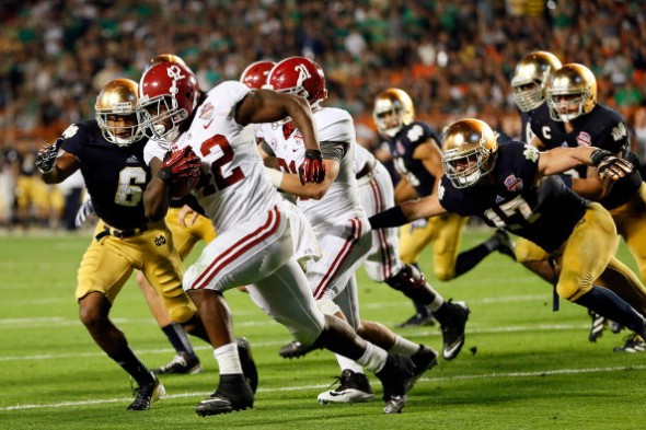 Discover BCS National Championship - Notre Dame v Alabama