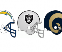 Chargers Rams Raiders Moving