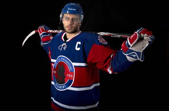New IceCaps Jersey Pays Respects to Newfoundland History