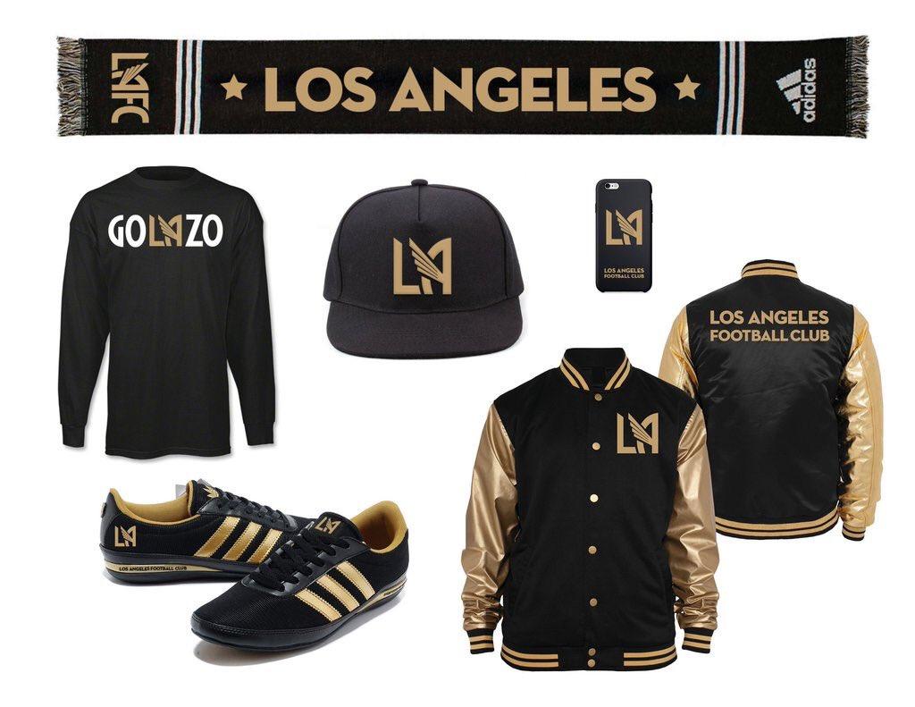 e73c10e96 Los Angeles Football Club reveals colors and crest